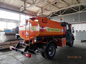 Топливозаправщик ГАЗ-33086