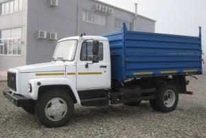 Самосвал ГАЗ-САЗ-25072