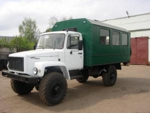 Вахтовый автобус на шасси ГАЗ-33081