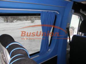 Шторки на микроавтобус Форд Транзит