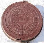 Люк полимерно-песчаный тип ТМ тяжелый магистральный (до 25 т)