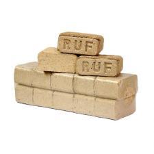 Топливный брикет RUF Premium, хвоя-береза 1 тонна