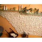 Мрамор галтованный белый 10-20 мм, 50 кг
