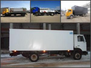 Переоборудование грузового автомобиля КАМАЗ (65115, 65117, 43118), КАМАЗ 4308, МАЗ, Маз Зубренок.
