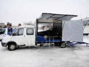 Переоборудовать автомобиль Hyundai HD 78 в авто – эвакуатор.