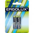 Ergolux LR03 Alkaline BL-2 (батарейка,1.5В)