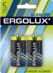 Ergolux LR14 Alkaline BL-2 (батарейка,1.5В)