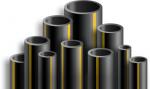 Труба ПНД (полиэтиленовая) газовая 315*18,7 мм, ПЭ100 SDR17 max. 6 атм. ГОСТ 50838-2009