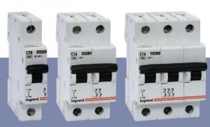 Выключатель автоматический Legrand 1х пол С 16A