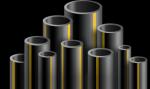 Труба ПНД газовая 225*12,8 мм, ПЭ80 SDR17.6 max. 4 атм. ГОСТ 50838-2009