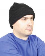 Шапка трикотажная, «СОТ-2» цвет – черный