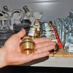 Камера редуктора понижения давления воды латунная с крышкой