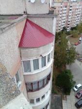 Кровля балконов