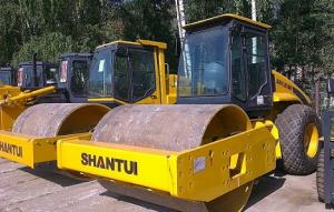 Виброкаток Shantui SR12-5 полноприводный, 2013 г.в.