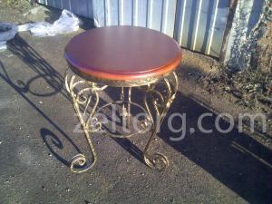 Кофейный столик кованый