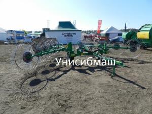 Грабли ворошилки колесно-пальцевые ГКП-6,3