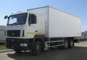 Изотерма на шасси МАЗ 6312В9-429-012