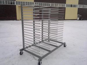 Передвижные стойки для сушки заготовок  СП-2014
