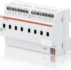 2CDG110157R0011 SA/S 8.10.2.1 Бинарный выход 8-канальный, с ручным управлением, 10А, MDRC ABB
