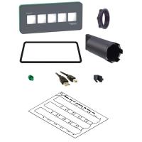 SE Magelis SCU Переключатель с подсветкой 22 мм 5 цвет светодиодных кнопок Schneider Electric HMIZRA1