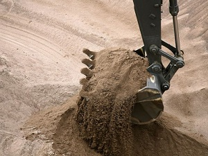 Песок карьерный с доставкой