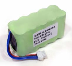 Батарея 10Н-4/5А2000 (для электрокардиографа KENZ Cardico-302 (Suzuken) и электрокардиограф Dixion ECG-1001 (1003))