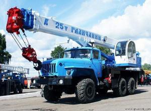 Автокран Галичанин КС-55713-3В