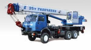 Автокран Галичанин КС-55713-1В
