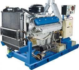 Дизельная электростанция АД-100 100 кВт на раме