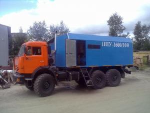 Установка ППУА 1600/100 на шасси КамАЗ 43118
