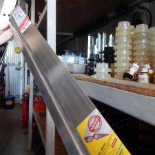 Правило 2,5м, алюминиевое, профиль ДВУХВАТ с ребром жесткости