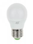Лампы светодиодные PRORAB Лампа светодиодная LED ШАР 5,0Вт 160-260В Е27 4000К