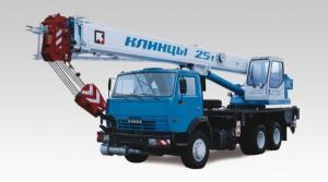 Автокран Клинцы КС-55713-1К-2 на шасси КАМАЗ-65115