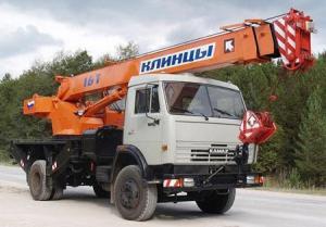 Автокран Клинцы КС-35719-1-02 на шасси КАМАЗ-43253