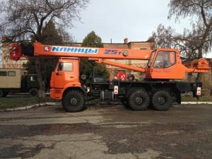 Автокран Клинцы КС-55713-5К-1 на шасси КАМАЗ-43118