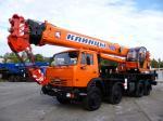 Автокран Клинцы КС-65719-1К-1 на шасси КАМАЗ-6540