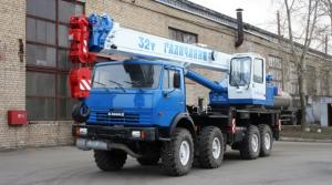 Автокран Галичанин КС-55729-5В на шасси КАМАЗ-63501