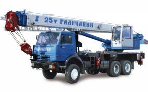 Автокран Галичанин КС-55713-4В