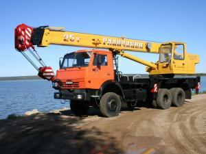 Автокран Галичанин КС-55713-4 на шасси КамАЗ-53228
