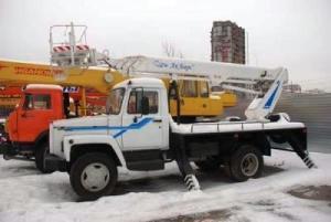 Автогидроподъемник ТА-22 на шасси ГАЗ-3309