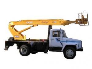 Автогидроподъемник АПТ-18 на шасси ГАЗ-3309