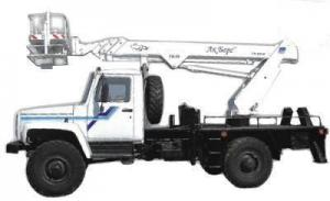 Автогидроподъемник ТА-18 на шасси ГАЗ-33081 «Садко»