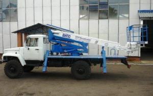"Автогидроподъемник ВИПО-20-01 на шасси ГАЗ-33081 ""Садко"""