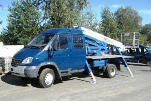 """Автогидроподъемник ВИПО-20-01 на шасси ГАЗ-331063 """"Валдай-фермер"""""""