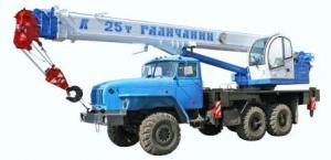 "Автокран КС-55713-3 ""Галич"""