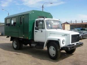 Вахтовый автобус ВМ-3284 ГАЗ-3309