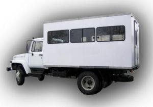 Вахтовый автобус ВМ-32841-10-01 20 мест.