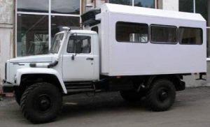 Вахтовый автобус ГАЗ- 33081 «Садко» 15 мест