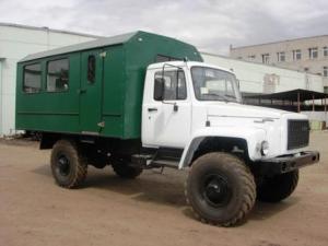 Вахтовый автобус ГАЗ- 33081 «Садко» 20 мест