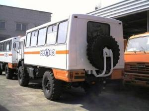 Вахтовый автобус НЕФАЗ-42111-110-11